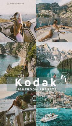 Kodak - 5 Mobile Lightroom Presets -@dolcevitapresets #lightroompresets #mobilepresets #presets #lightroom #blogger #travel #influencer #instagrammer #travelblogger #traveling #beach #sea #film #vintage #tuscany #kodak