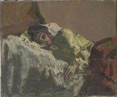 Resting, La Giuseppina by Walter Richard Sickert, 1903 Andrew Wyeth Paintings, Walter Sickert, Impressionist Artists, Italian Painters, Post Impressionism, Figurative Art, Painting Inspiration, Modern Art, Pop Art