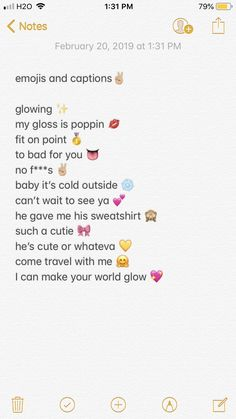 Flirty Captions, Insta Captions For Selfies, One Word Instagram Captions, New Year Captions, Name For Instagram, Instagram Picture Quotes, Instagram Emoji, Couple Caption, Funny Text Conversations