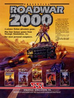 OLD VIDEO GAME ADVERTISEMENTS : Photo
