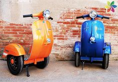 Design firm merges a Vespa with a Segway to create 'Vespa Segways'