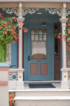 Pretty doorway in Cedarburg WI