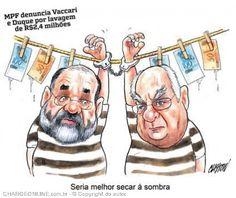 Vaccari e Duque... Lavagem de milhões...