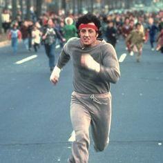 Rocky training.