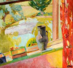 VANESSA BELL View of the Pond at Charleston (c.1919)