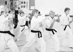 There they are, our Cobra Kai babes The Karate Kid 1984, Karate Kid Movie, Karate Kid Cobra Kai, Cobra Kai Wallpaper, Old School Movies, William Zabka, Cobra Kai Dojo, Bae, 1980s Films