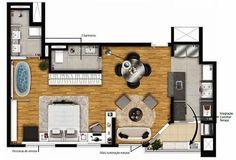 Projetos e Plantas de Casas | Ideias de PROJETOS | 8 Ideias de Plantas de Loft