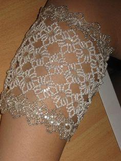 Free Bead Patterns and Ideas : Round Lace Bracelet FREE Pattern