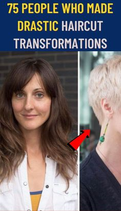 #People #Made #Drastic #Haircut #Transformations