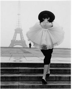 The most classy person ever... AUDREY HEPBURN in Paris