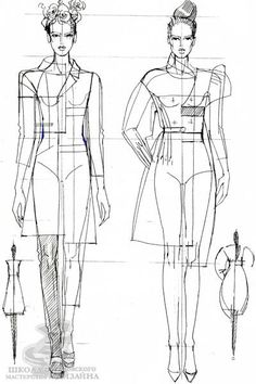 Эскизная графика дизайн костюма Fashion Figure Templates, Fashion Design Template, Fashion Illustration Dresses, Illustration Girl, Fashion Illustrations, Fashion Design Drawings, Fashion Sketches, Design Your Own Clothes, Figure Sketching