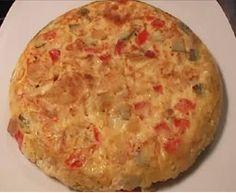 Platos Latinos, Blog de Recetas, Receta de Cocina Tipica, Comida Tipica, Postres Latinos: Tortilla de Patatas para Diabéticos, Cocina Saludable