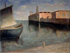 Carlo Carra (1881-1966) - Lagoon, 1932