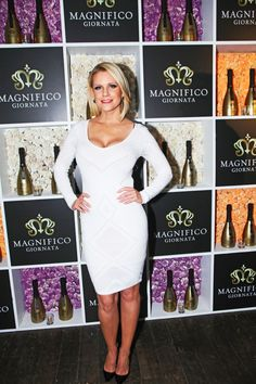 Carrie Keagan at Magnifico Giornata Infused Essence Collection Launch Party (Photo by Yoni Levy). Review from TheSceneNewYork.com!