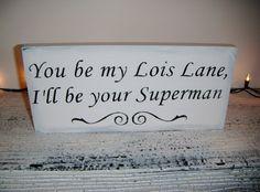 Lois Lane and Superman =)