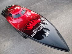 Check Out This Expresscraft We Did A Few Years Ago Bonzi Sports - Custom vinyl decals for rc boatsrc boat archives bonzi sports rc gas boats and accessories