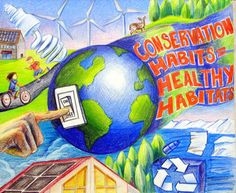 conservation of energy poster Energy Conservation Poster, Save Water Poster Drawing, Save Earth Drawing, Environment Painting, Save Environment, Earth Drawings, Earth Poster, Drawing Competition, Art Competitions