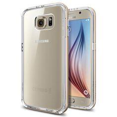 SPIGEN Neo Hybrid CC Skal till Samsung Galaxy S6 - Gold