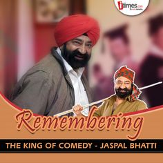 #JaspalSinghBhatti is one of the finest comedians of our country & was fondly known as the 'King of Comedy'. Here's remembering him on his birth anniversary! A look at his life in pics -
