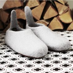 WERANNAS TARJOUS Felting, Slippers, My Style, Winter, Shoes, Fashion, Winter Time, Moda, Zapatos