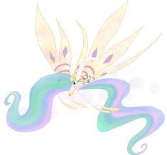 My Little Pony Celestia Breezie by kaizerin.deviantart.com on @DeviantArt