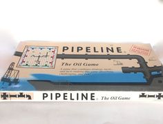 Pipeline The Oil Board Game Vintage 1988 Playco Complete #Playco