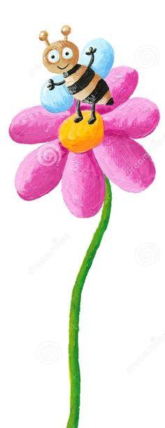 Dreamstime.com #bee #flower