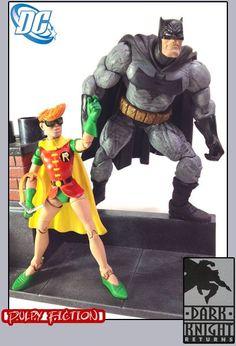 The Dark Knight Dynamic Duo - Batman & Carrie Kelley Robin Custom Action Figure