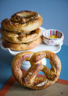 Honey Wheat Soft Pretzels