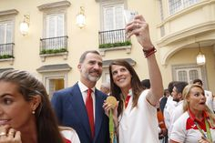 Audiencia de los Reyes Felipe VI y Letizia a los medallistas y diplomas olímpicos y paralímpicos españoles participantes en #Rio2016 28-09-2016