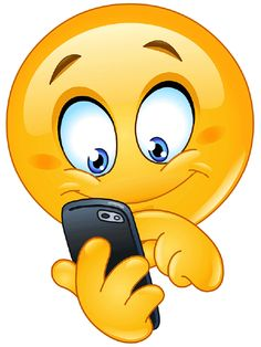 Smiley mit Handy You are in the right place about Smartphone dicas Here we offer you the most beauti Smiley Emoji, Emoji Copy, Animated Smiley Faces, Funny Emoji Faces, Animated Emoticons, Funny Emoticons, Cute Emoji, Meme Faces, Emoji Images