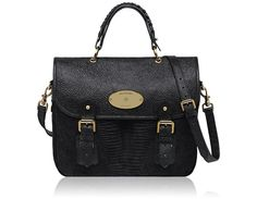Mulberry Trout Shoulder Bags Womens Black Reptile Print Suede Bags - $230.99 http://www.lhbon.com/mulberry-trout-shoulder-bags-womens-black-reptile-print-suede-bags-p-3755.html