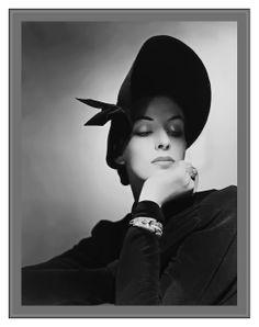 #GeorgePlattLynes #photography #fashion #hats