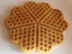 O Cantinho da Marta: Waffles Simples