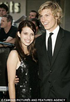 Emma with actor Alex Pettyfer