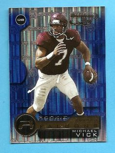 2001 Quantum Leaf #201 - Michael Vick RC (Rookie Card) by Quantum Leaf. $6.49. 2001 Quantum Leaf #201 - Michael Vick RC (Rookie Card)
