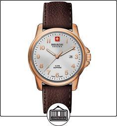 Swiss Military Hanowa 06-4141.2.09.001- Reloj de pulsera hombre, piel, color marrón de  ✿ Relojes para hombre - (Gama media/alta) ✿