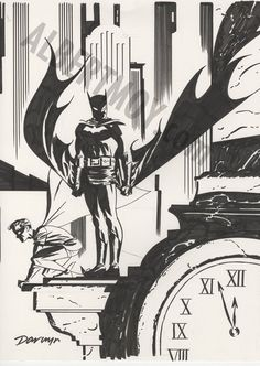 By Darwyn Cooke batman | awyeahcomics:Batman & Robin by Darwyn CookeWell here's the best ...