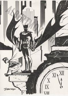 By Darwyn Cooke batman   awyeahcomics:Batman & Robin by Darwyn CookeWell here's the best ...