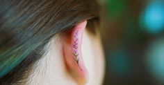 Helix Tattoo Trend Is Taking Over Instagram, And These 10+ Pics Will Make You Want To Get One Too | Bored Panda