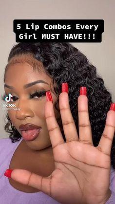 Makeup For Black Skin, Black Girl Makeup, Girls Makeup, Makeup Tips Eyeshadow, Eyebrow Makeup, Makeup Cosmetics, Soft Makeup Looks, Creative Makeup Looks, Beauty Routine Tips