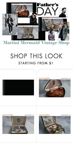Father's Day... by martinimermaid on Polyvore featuring Rittenhouse, DKNY, vintage, men's fashion and menswear