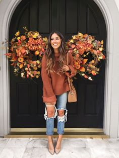 Lots of Thanksgiving Outfit Ideas | Dress Up Buttercup | Fashion Blogger