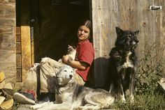 Susan Butcher and her dog Granite--we learned about them and bought her book in Alaska.