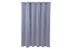 Swell Shower Curtain, Navy