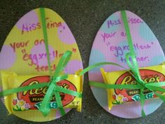 So cute love this little gift to my egg cellent teacher for easter gifts for teachers negle Images