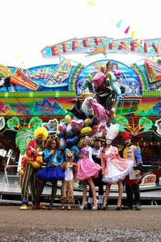 Sei wer du willst!  Gruppenkostüm, Deiters, Kirmes, Fasching, Karneval, Clown