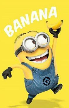 Deco Panel Minions Banana, Grafikdruck East Urban Home Minions Images, Minion Pictures, Minions Love, My Minion, Minions Quotes, Funny Minion, Funny Jokes, Minions 2014, Funny Quotes Wallpaper
