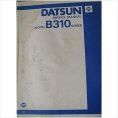 Datsun B310 Series Service Manual 1980 SM0E-B310G0 on eBid United Kingdom