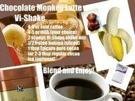 banana, chocolate, shake, body by vi, weight loss,  www.bodybyvisite.com